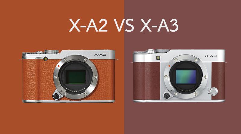 15 Fujifilm X A2 A3